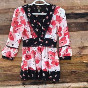 Anthropologie   Fei Babydoll Floral Top size 0